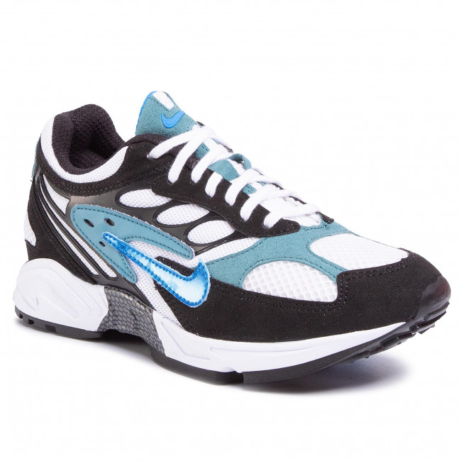 Buty NIKE - Air Ghost Racer AT5410 004 Black/Photo Blue/Mineral Teal