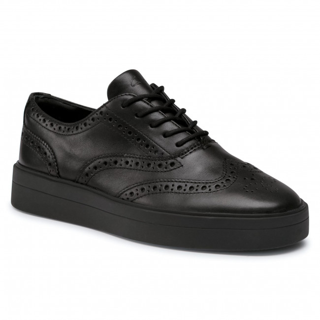 Sneakersy CLARKS - Hero Brogue. 261523464 Black
