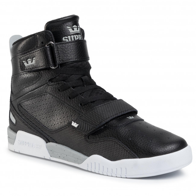 Sneakersy SUPRA - Breaker 05893-071-M Black/Lt Grey/White