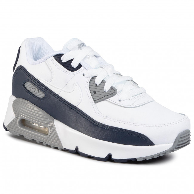 Buty NIKE - Air Max 90 Ltr (Ps) CD6867 105 White/White/Particle Grey