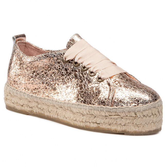 Espadryle MANEBI - Sneakers D G 0.4 E0 Rose Gold