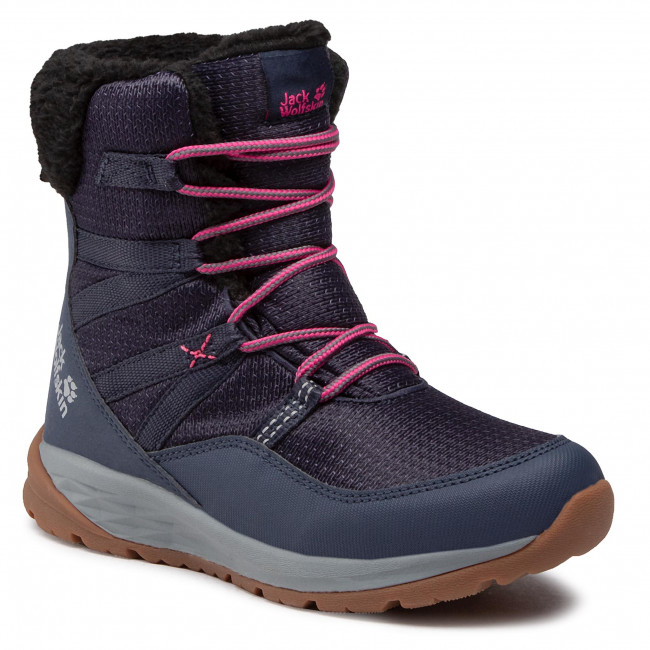 Śniegowce JACK WOLFSKIN - Polar Wolf Texapore High K 4036152 Dark Blue/Grey