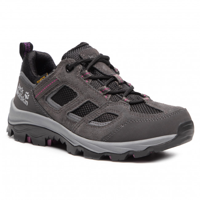 Trekkingi JACK WOLFSKIN - Vojo 3 Texapore Low W 4042451 Dark Steel/Purple