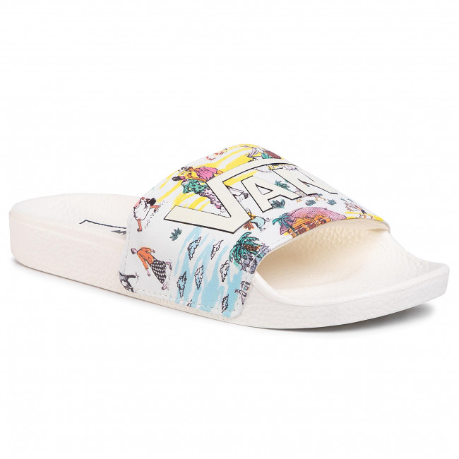 Klapki VANS - Slide-On VN0004KIW941  (Kide) Marshmallow