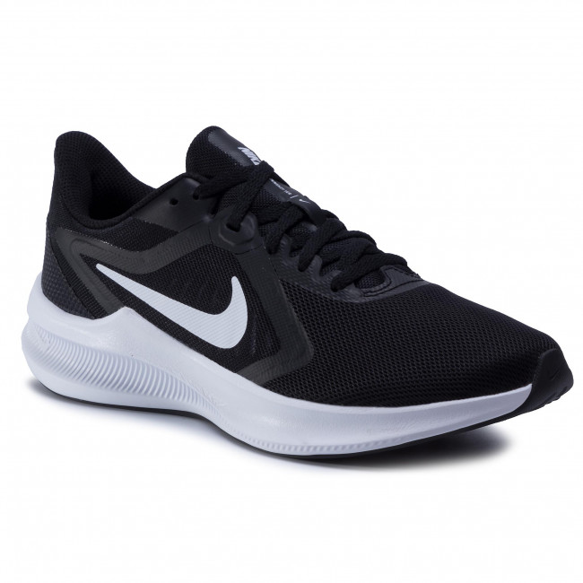 Buty NIKE - Downshifter 10 CI9984 001 Black/White/Anthracite