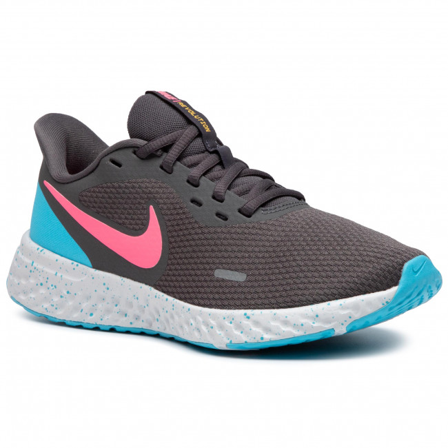Buty NIKE - Revolution 5 CU4830 001 Thunder Grey/Digital Pink