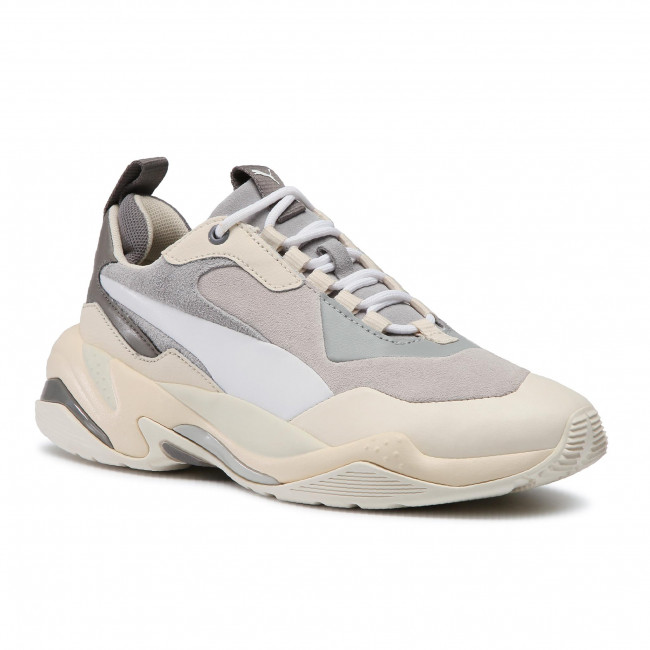 Sneakersy PUMA - Thunder Colour Block Wn's 370960 02 Quarry/White Smoke