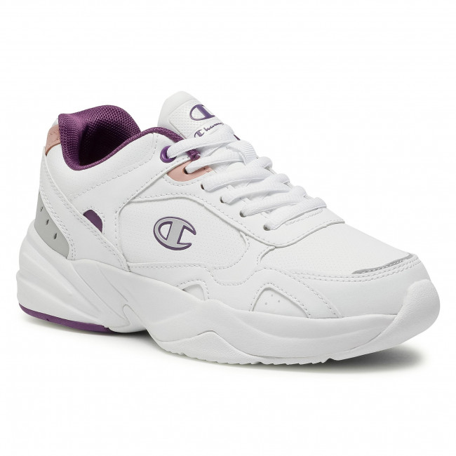 Sneakersy CHAMPION - Low Cut Shoe S11000-F20-WW001 Philly Wht/Violet/Pink