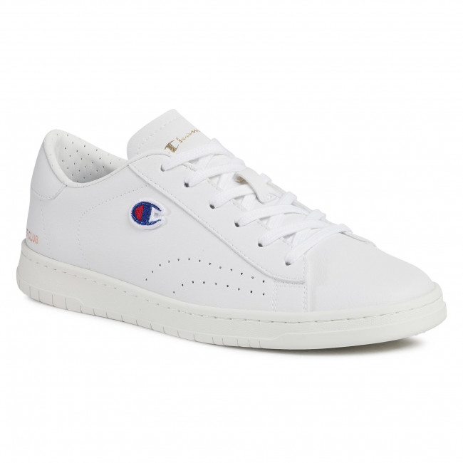 Sneakersy CHAMPION - Court Club Patch S21585-F20WW001 Wht