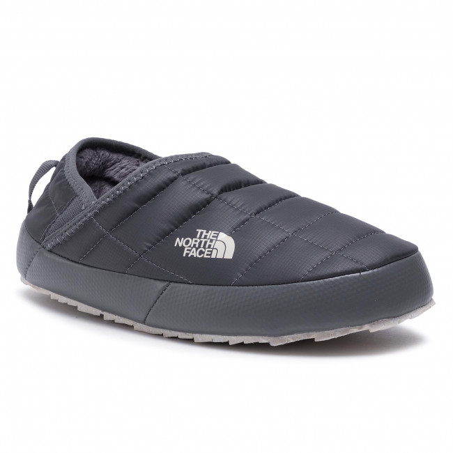 Kapcie THE NORTH FACE - Thermoball Traction Mule V NF0A3V1HVF01 Vanadis Grey/Vintage White