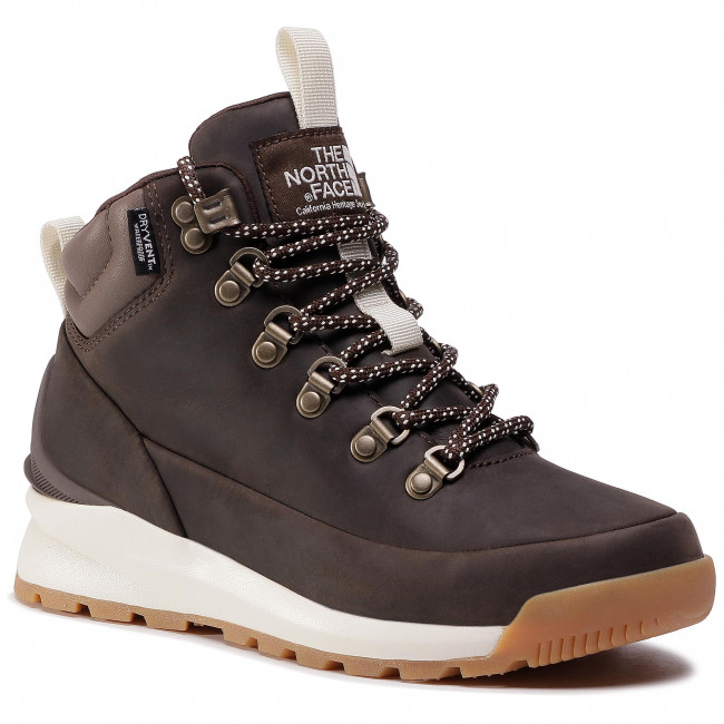 Trekkingi THE NORTH FACE - Back-To-Berkley Mid Wp NF0A4AZFMJ4 Demitasse Brown/ Bipartisan Brown