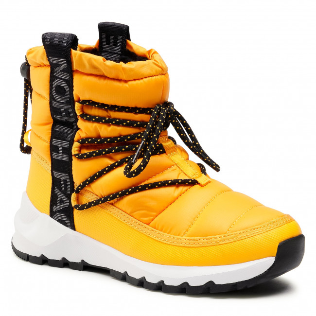 Śniegowce THE NORTH FACE - Thermoball Lace Up NF0A4AZGZU31  Summit Gold/Tnf Black 050