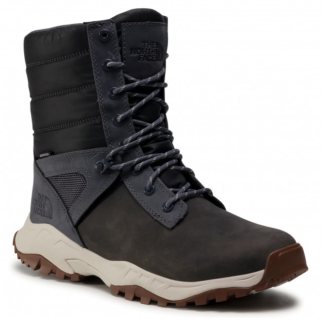 Śniegowce THE NORTH FACE - Thermoball Boot Zip-Up NF0A4OAI9T31 Asphalt Grey/Vintage White