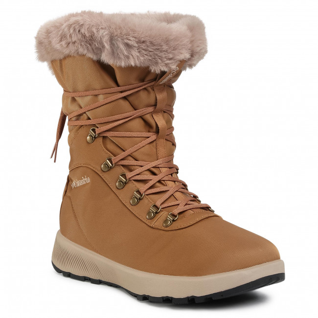Śniegowce COLUMBIA - Slopeside Village Omni-Heat Hi BL0146 Elk/Autumn Orange 286