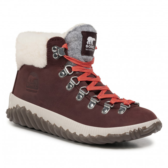 Botki SOREL - Out N About Plus Conquest NL3404 Redwood 628