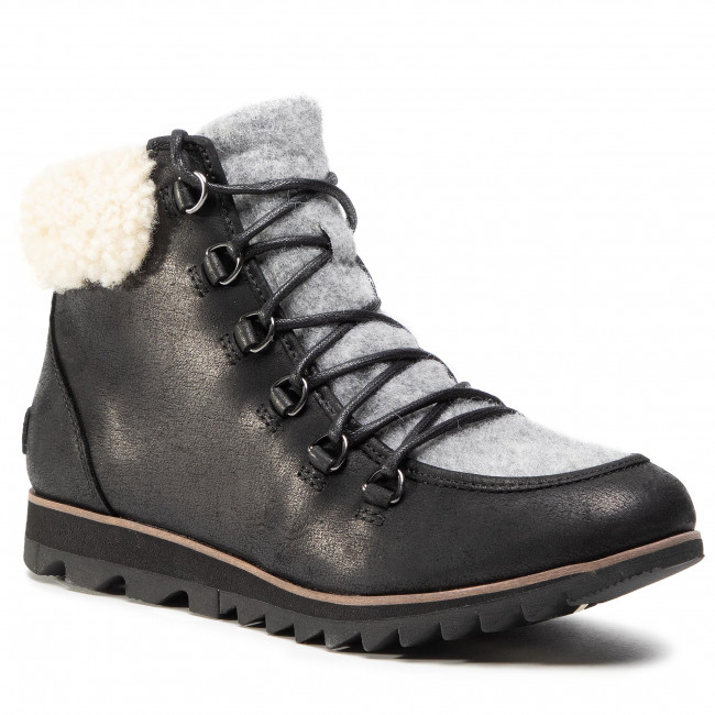 Botki SOREL - Harlow Lace Cozy NL3733 Black 010