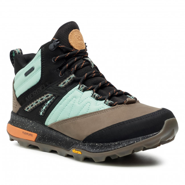 Trekkingi MERRELL - Zion Mid Wp X Unlikely Hikers J500105 Wave