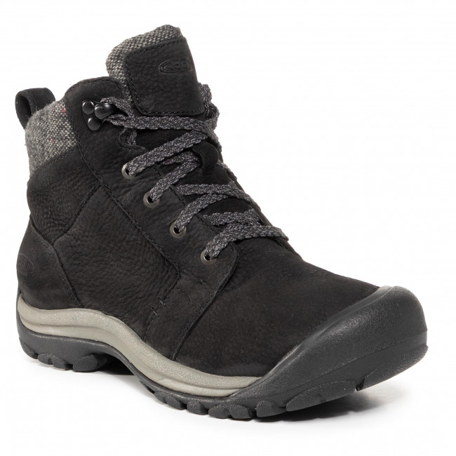 Trekkingi KEEN - Kaci II Winter Mid Wp 1023601 Black/Steel Grey