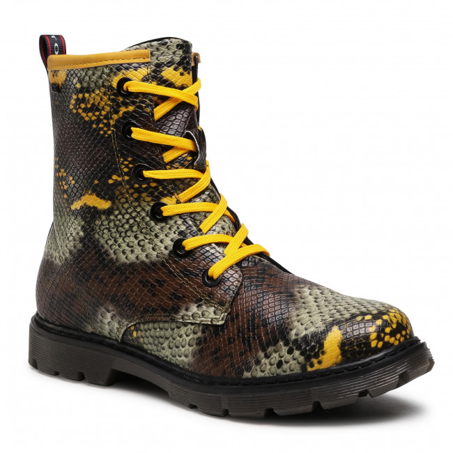 Trapery TOM TAILOR - 9071614 S Yellow/Multi