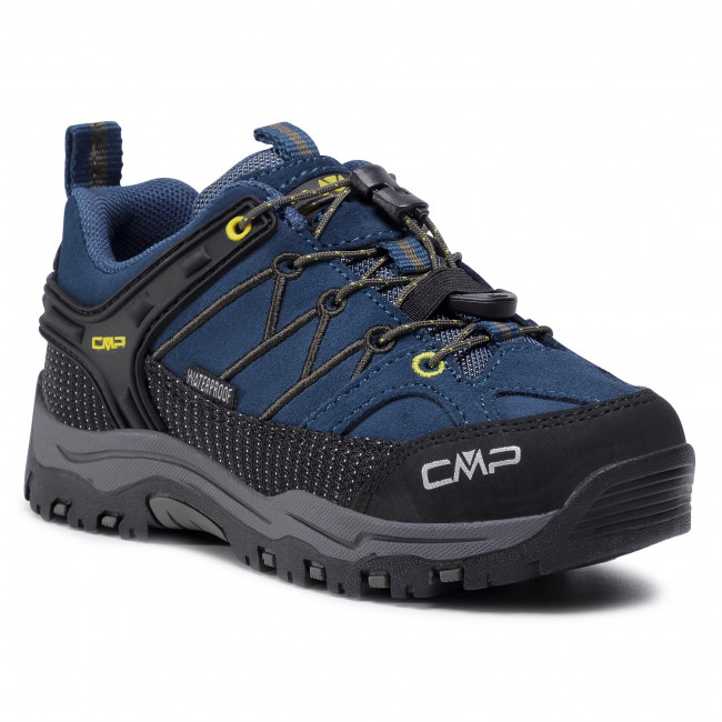 Trekkingi CMP - Kids Rigel Low Trekking Shoes Wp 3Q13244  Blue Ink/Yellow 10MF