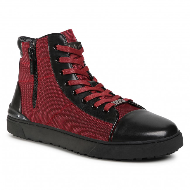 Sneakersy GOE - GG1N3021 Burgundy/Black