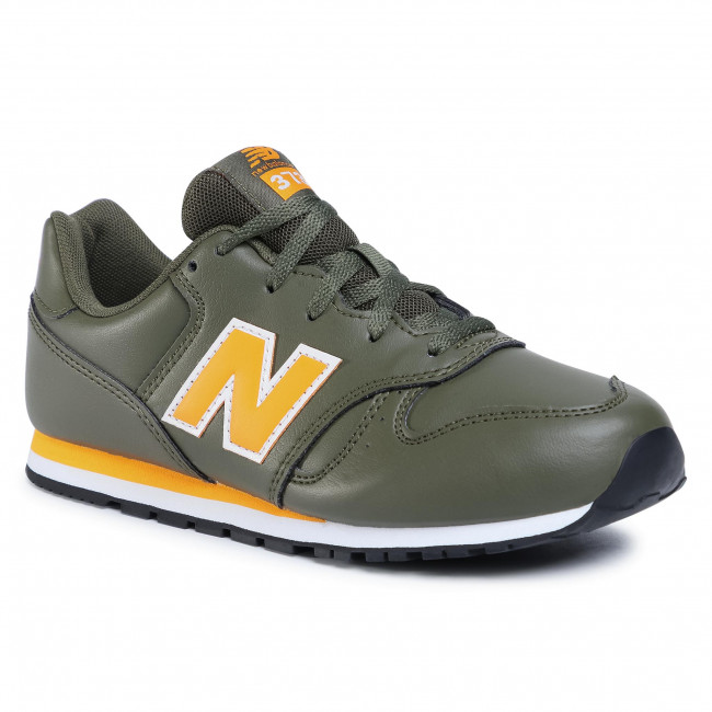 Sneakersy NEW BALANCE - YC373EGY Zielony