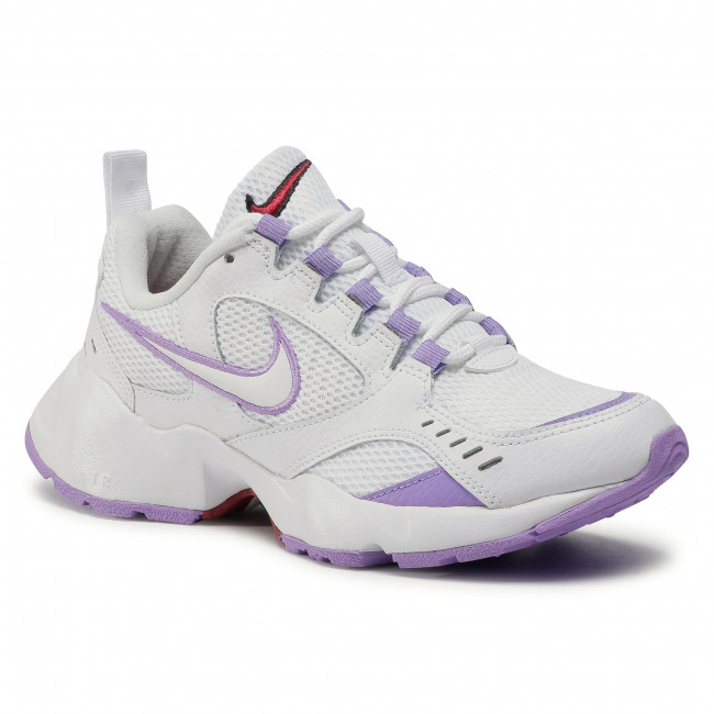 Buty NIKE - Air Heights CI0603 100 White/White/Noble Red