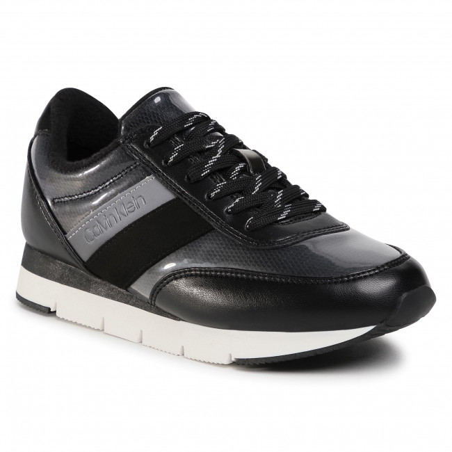Sneakersy CALVIN KLEIN - Tea B4E00352 Black