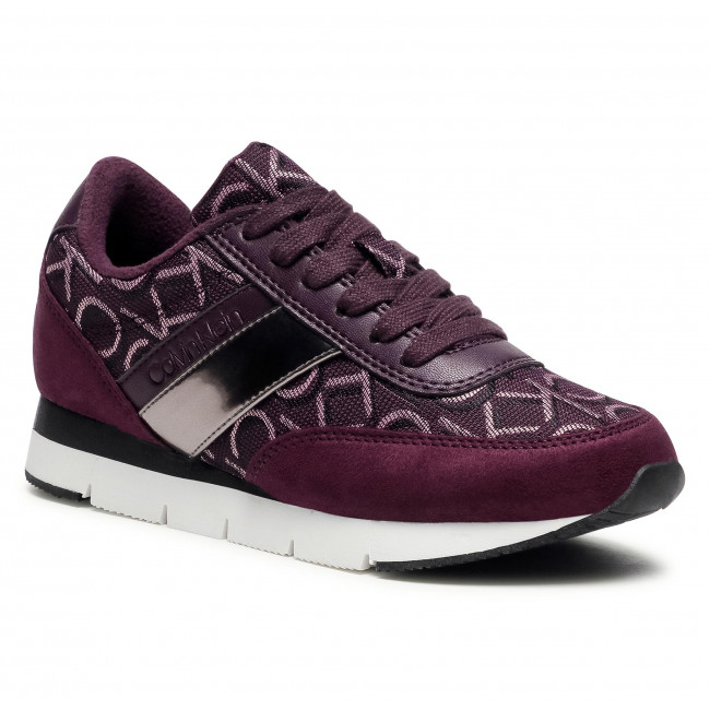 Sneakersy CALVIN KLEIN - Tea B4E00445 Potent Purple/Gunmet