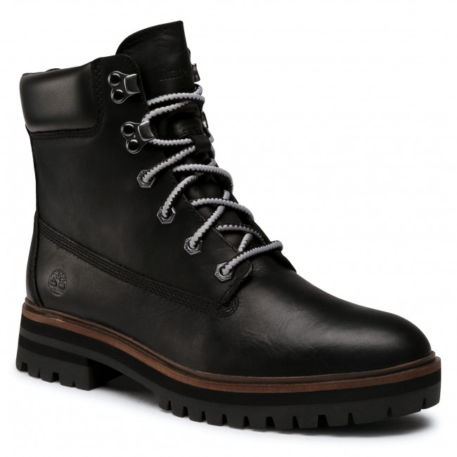 Trapery TIMBERLAND - London Square Boot TB0A1RCH0151  Black Full Grain