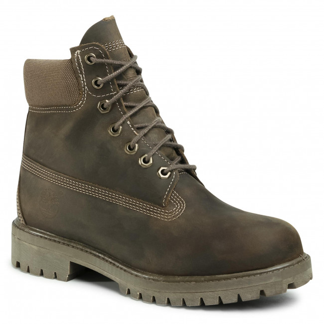 Trapery TIMBERLAND - Premium TB0A2DT8901 Olive Full Grain