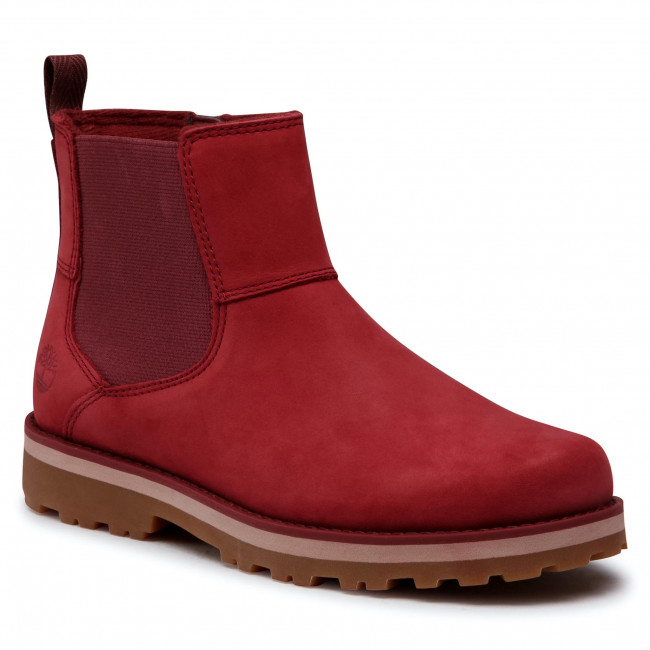 Trapery TIMBERLAND - Courma Kid Chelsea TB0A2MRRC561  Red Nubuck