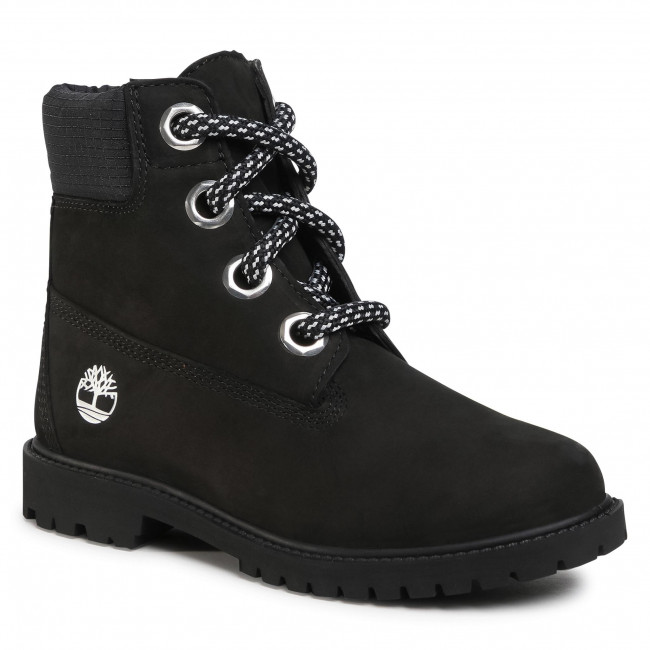 Trapery TIMBERLAND - Heritage 6 In Waterproof Boot TB0A2Q8F0011 Black