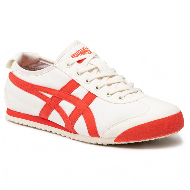 Sneakersy ONITSUKA TIGER -  Mexico 66 1183B497  Cream/Fiery Red 101