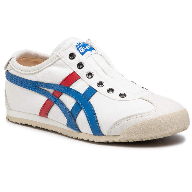 Sneakersy ONITSUKA TIGER - Mexico 66 Slip-On D3K0N White/Tricolor 0143