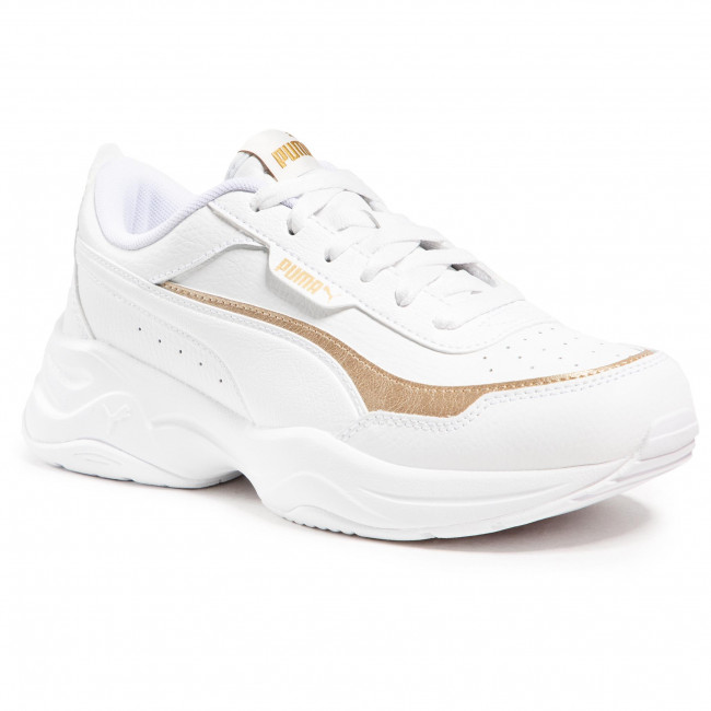 Sneakersy PUMA - Cilia Mode Lux 375732 02 White/Gold