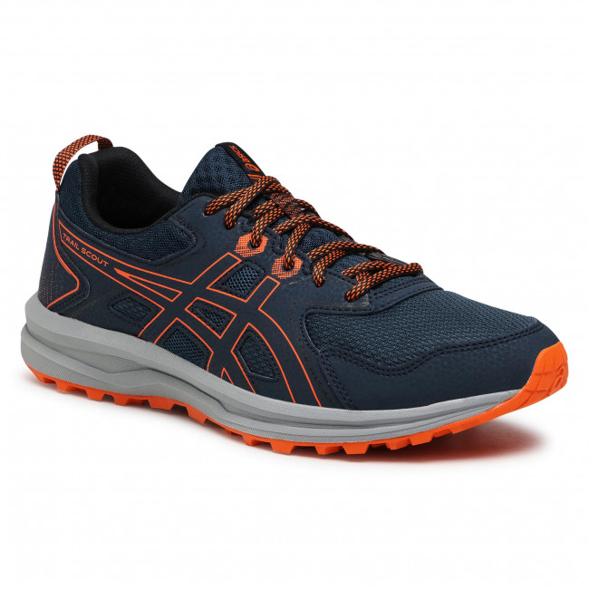 Buty ASICS - Trail Scout 1011A663  Trench Blue/Merigold Orange 400