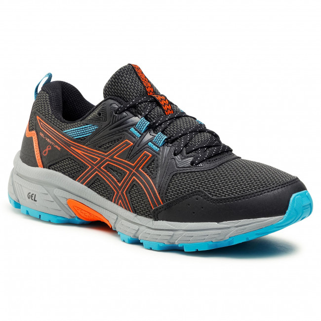 Buty ASICS - Gel-Venture 8 1011A824  Black/Marigold Orange 005