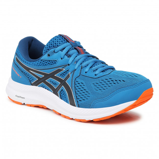 Buty ASICS - Gel-Contend 7 1011B274 Reborn Blue/Black 403