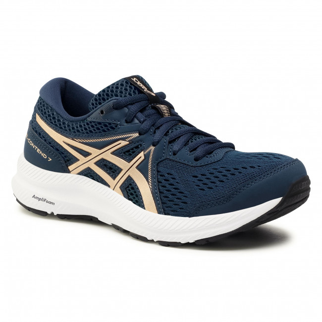 Buty ASICS - Gel-Contend 7 1012A911 French Blue/Champagne 401