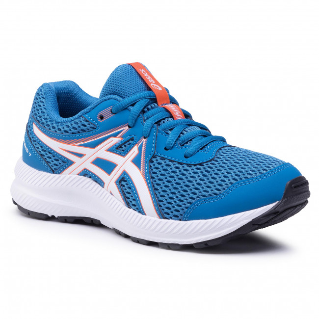 Buty ASICS - Contend 7 Gs 1014A192 Blue/White 403