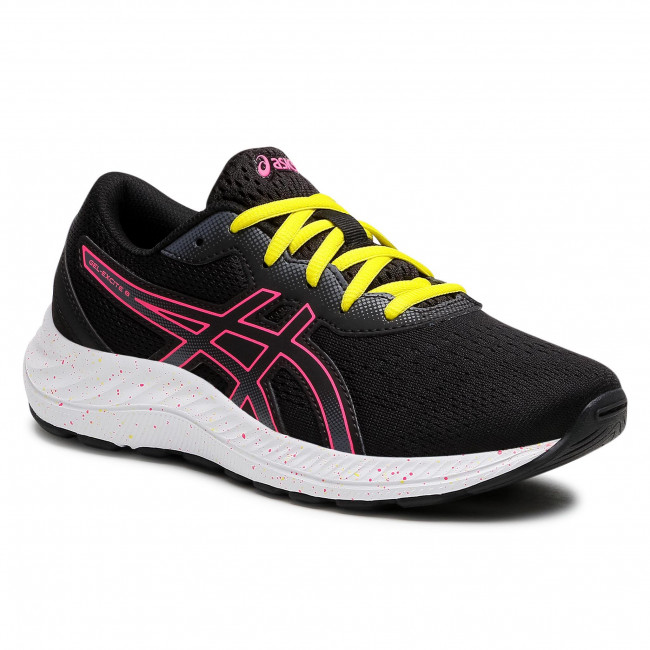 Buty ASICS - Gel-Excite 8 GS 1014A201 Black/Hot Pink