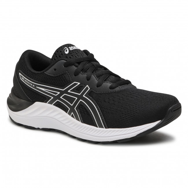 Buty ASICS - Gel-Excite 8 GS 1014A201 Black/White 002
