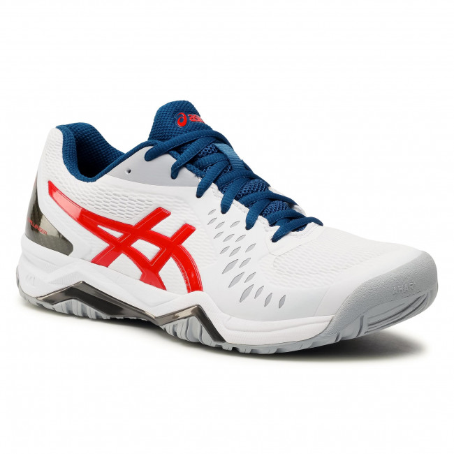Buty ASICS -  Gel-Challenger 12 1041A045 White/Classic Red 117