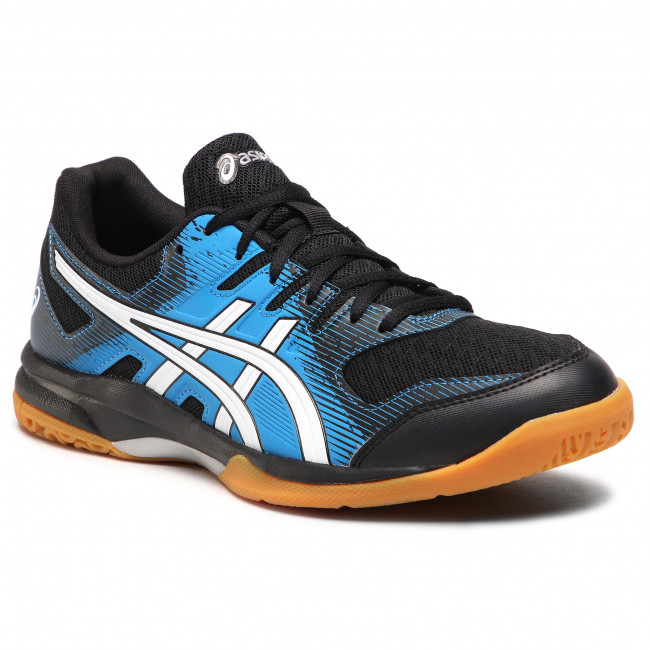Buty ASICS - Gel-Rocket 9 1071A030 Black/Directoire Blue 002