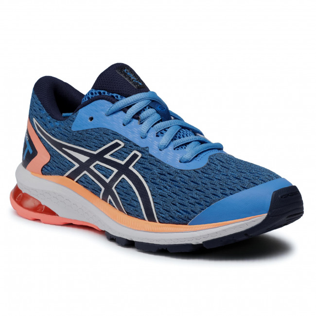 Buty ASICS - GT-1000 9 GS 1014A150 Blue Coast/Peacoat 401