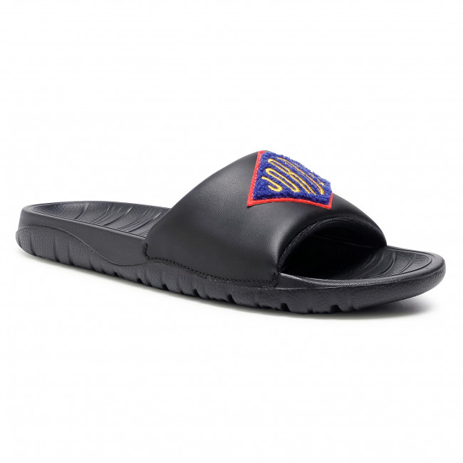 Klapki NIKE - Jordan Brak Slide Se CV4901 001 Black/Laser Orange