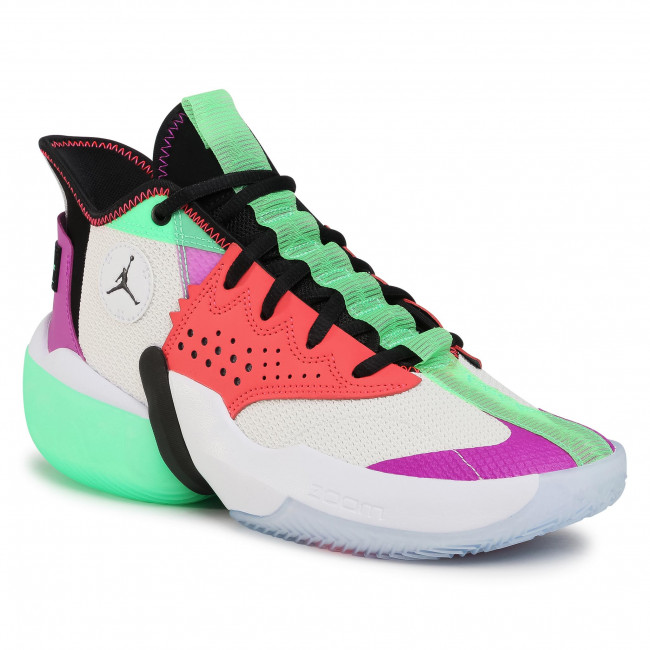Buty NIKE - Jordan React Elevation CK6618 101 White/Black/Hyper Violet