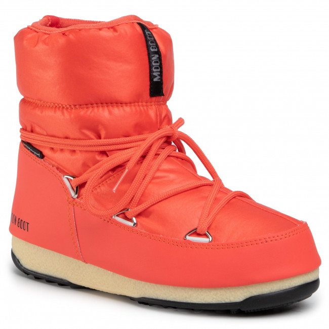 Śniegowce MOON BOOT - Low Nylon Wp 2 240093000 Coral