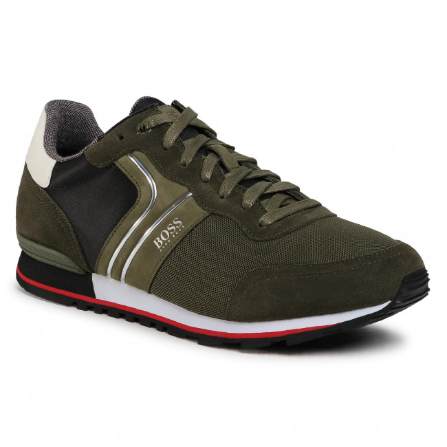 Sneakersy BOSS - Parkour 50433661 10214574 01 Open Green 340